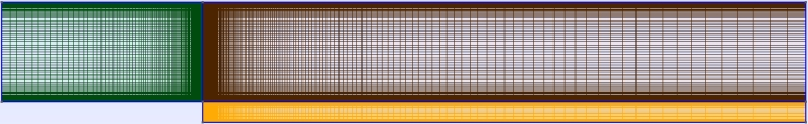 Medium mesh with 0.0005529